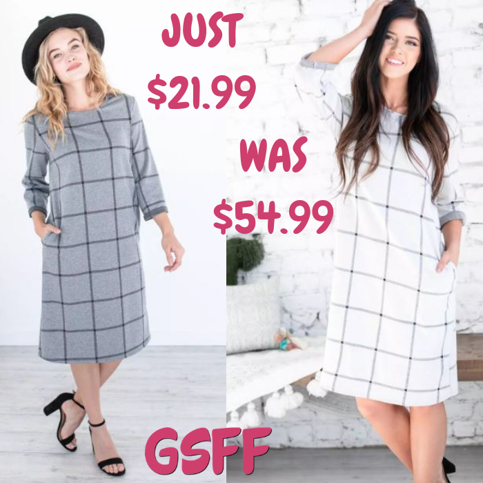 Demi Checkered Midi