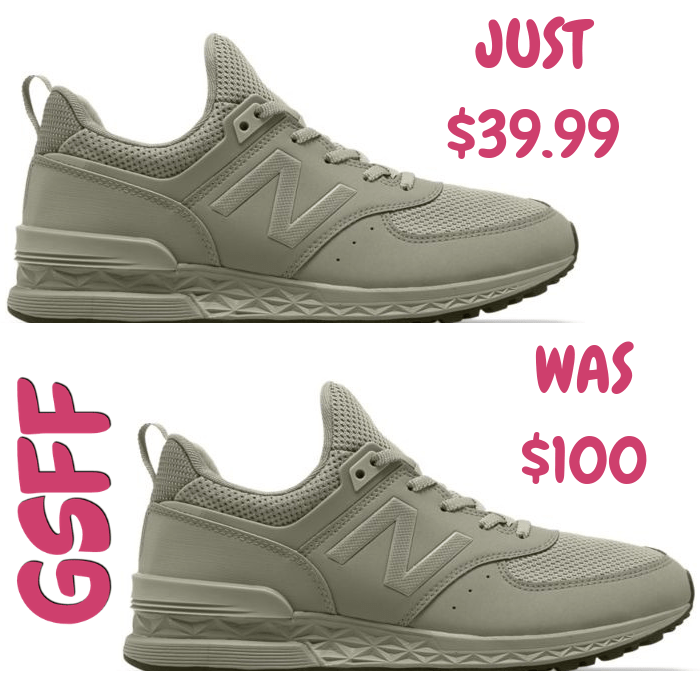 Men's Sport Shoes Just $39.99! Down From $100!