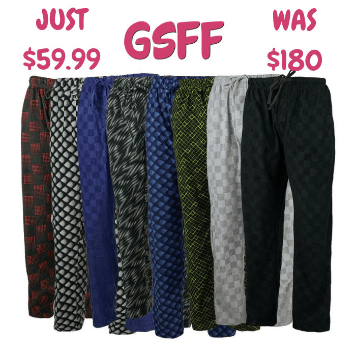 Men's Pants 5-Pack