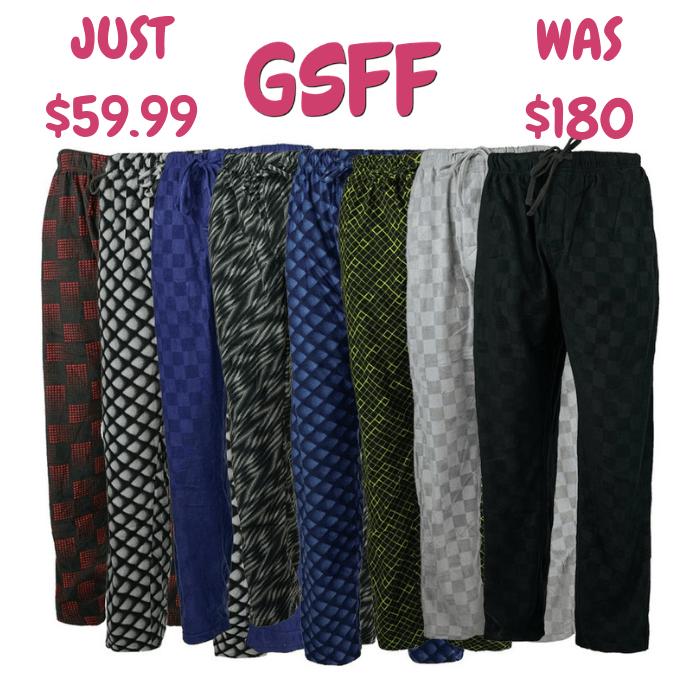 Men's Pants 5-Pack