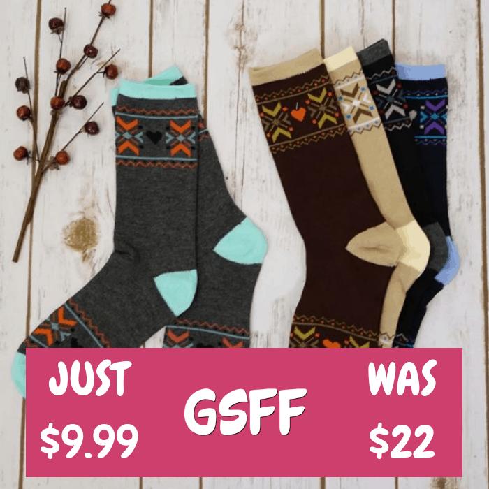 Boot Socks 6-Pack