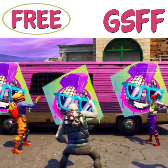 FREE Exclusive Fortnite Spray At Walmart!