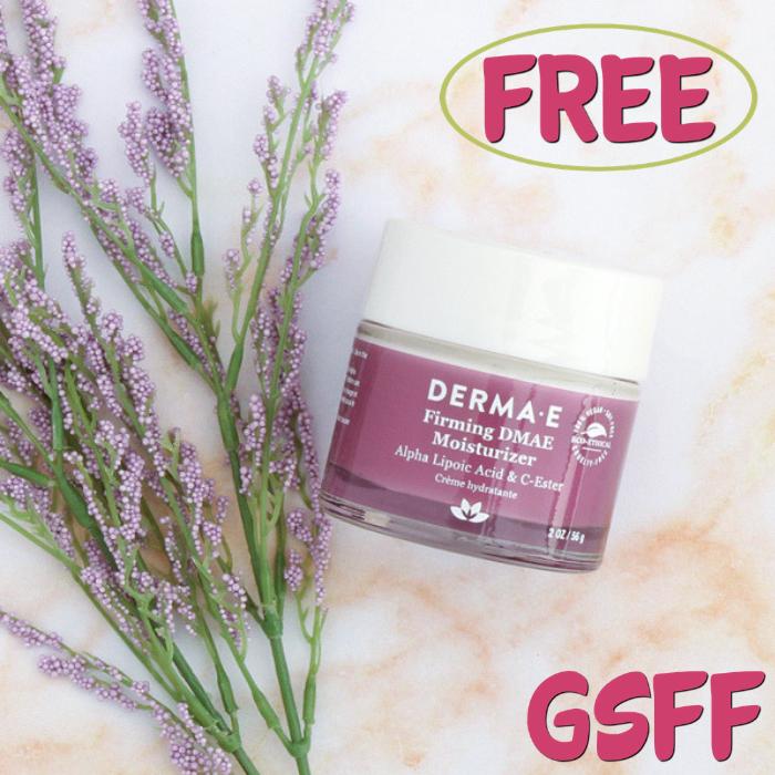 FREE Derma Firming DMAE Moisturizer Sample!