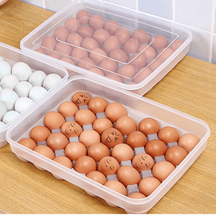 Rekukos 34-Pieces Egg Holder