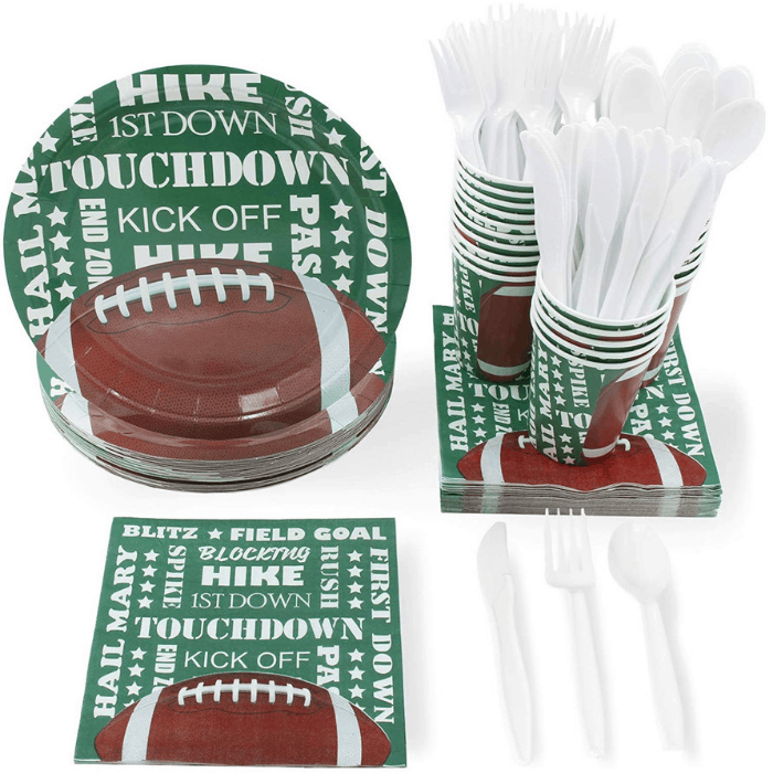 Juvale Football Party Supplies