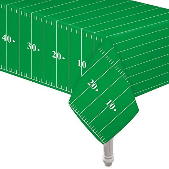 Game Day Football Touchdown Tablecover
