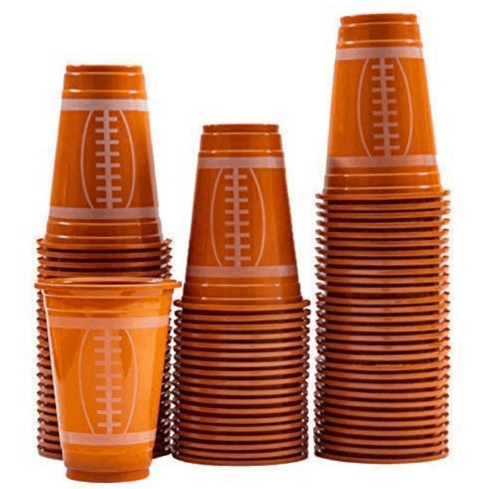 Football Plastic Cups