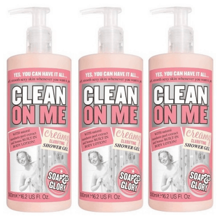 Soap And Glory Clean On Me Creamy Clarifying Shower Gel