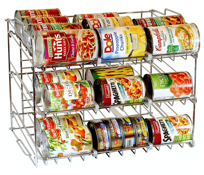 DecoBros Supreme Stackable Can Rack Organizer
