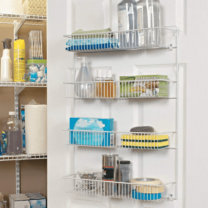 ClosetMaid 4-Tier Wall Rack