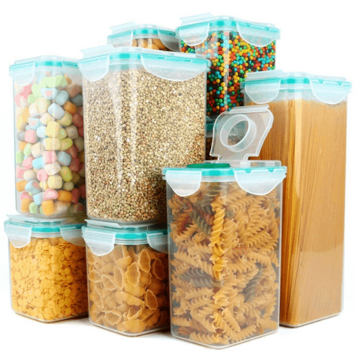 Verones Airtight Plastic Storage Container