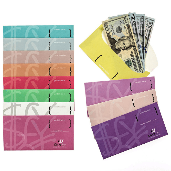 Divvy Up Cardstock Budgeting Envelopes