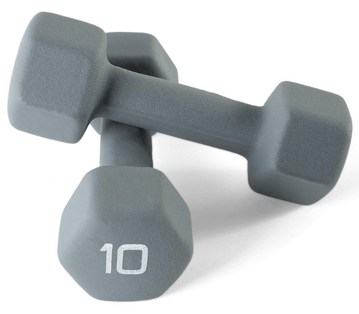 CAP Neoprene Dipped Dumbbells