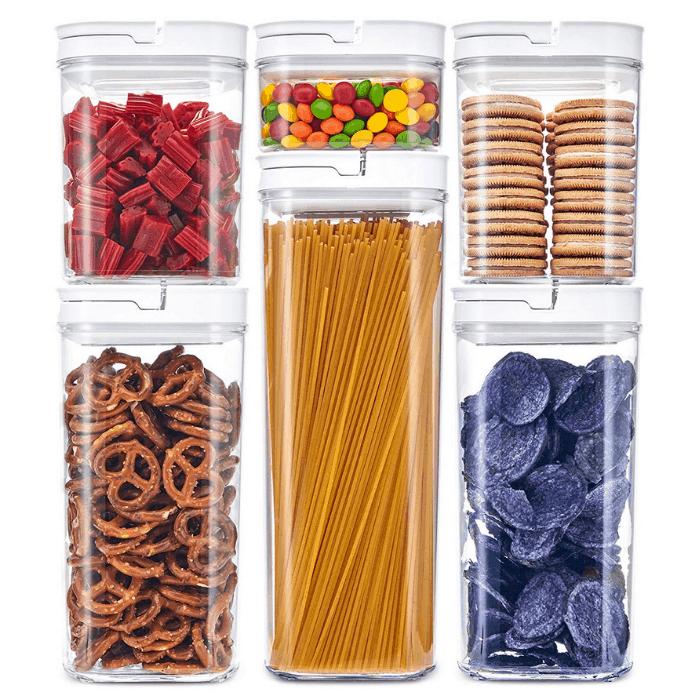 DuraHome 6-Piece Airtight Food Storage Container Set