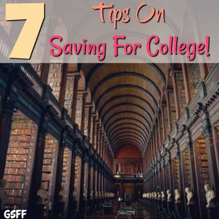 Saving for college seems daunting. What savings plans, scholarships, or financial aid?  These 7 Tips On Saving For College breaks it all down for you.