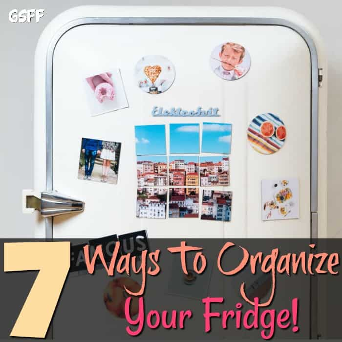 Do you need to know How To Organize Your Fridge?  With these 7 ways to organize your fridge you'll be set.  It's super easy, saves money, and time!