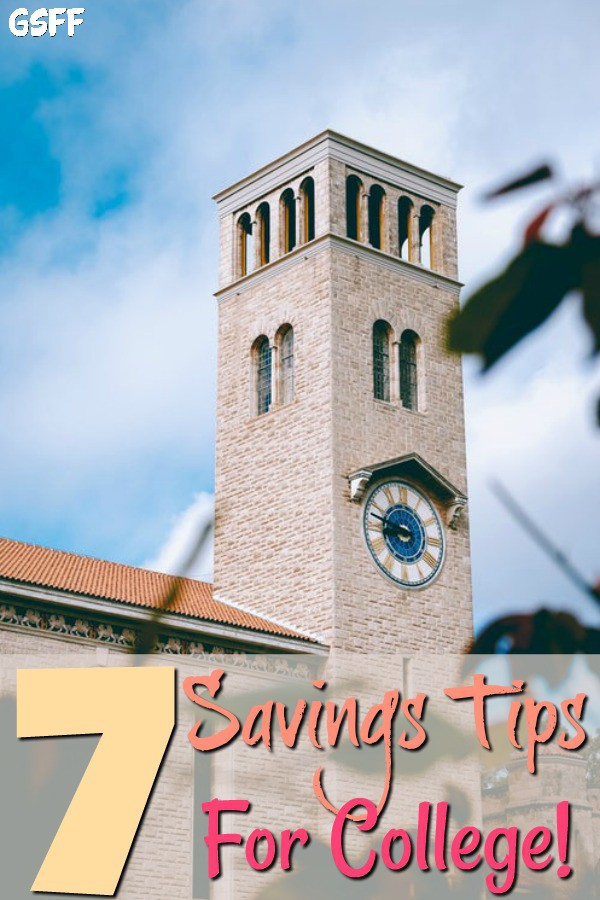 Saving For College Tuition seems daunting. What savings plans, scholarships, or financial aid?  These 7 Tips On Saving For College breaks it all down for you.