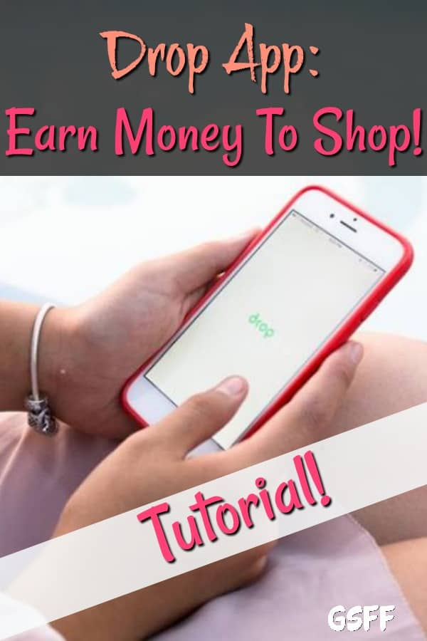 Drop App Tutorial:  What's easier than earning money for doing what you do every day?  Shopping!  That's it, sign up and start making money for shopping!