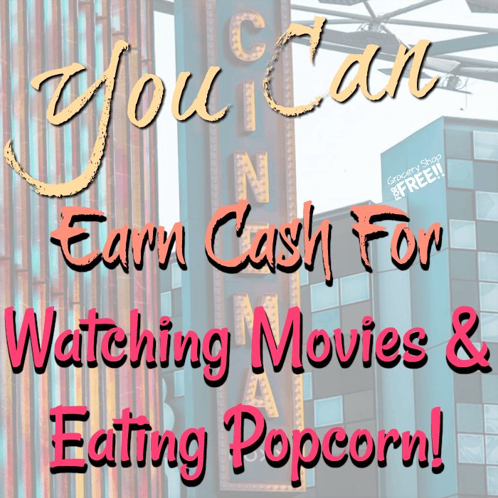 Earn Money By Watching Movies And Eating Popcorn!