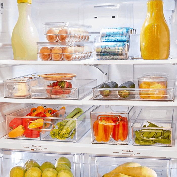 No More Mess: Organize Your Fridge With These Products!