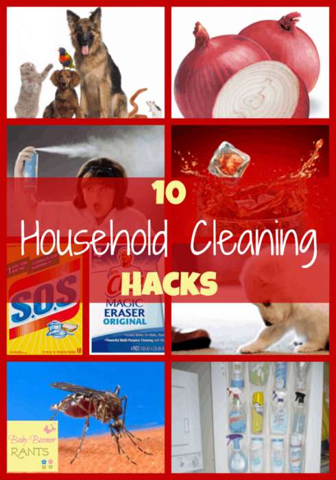 10 Household Cleaning Hacks!