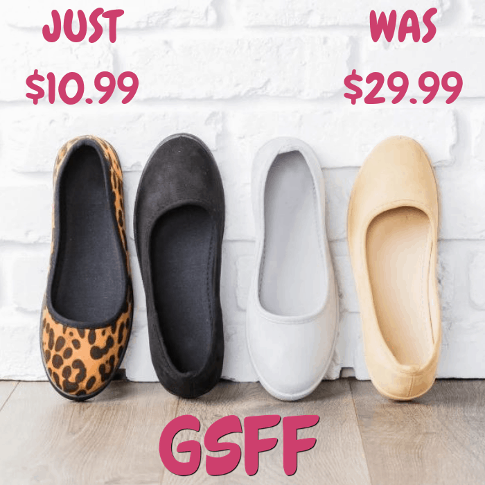 Slip-on Sneaker Flats Just $10.99! Down From $30! Shipped!