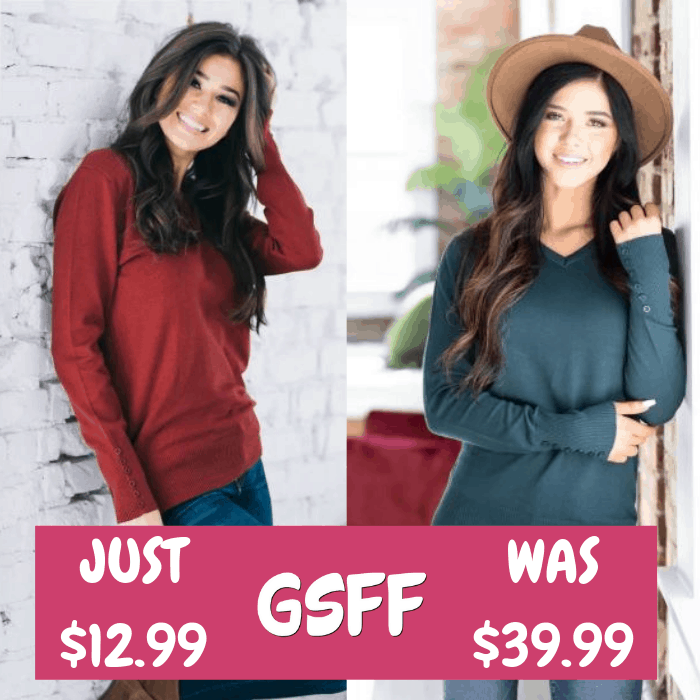 Elora V-Neck Sweater