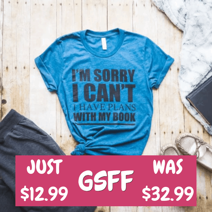 Bookish Tees Just $12.99! Down From $33! Shipped!