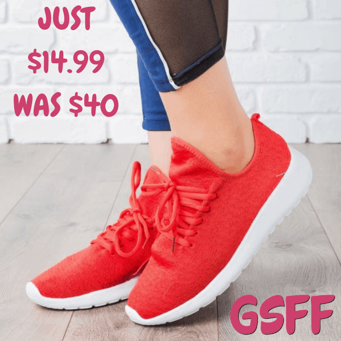 Knitted Sneakers Just $14.99! Down From $40! Shipped!