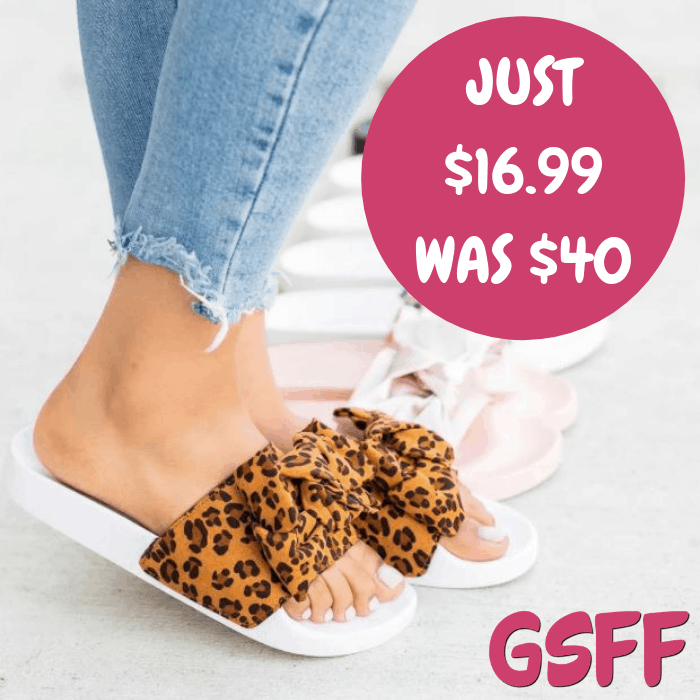 Bow Flip Flop Sandals Just $16.99! Down From $40! Shipped!