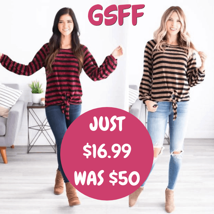 Cozy Knot Top Just $16.99! Down From $50! Shipped!