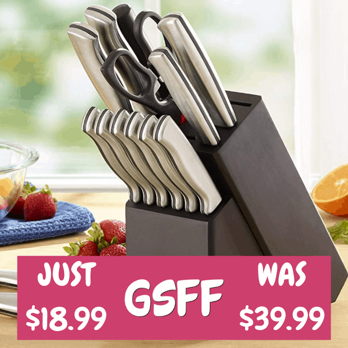 Farberware 15-Piece Knife Set