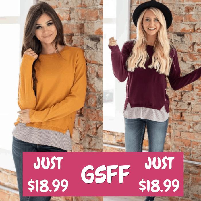 Juliette Contrast Sweater