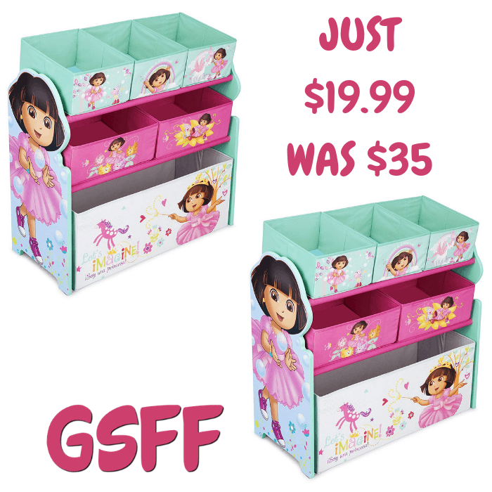 Multi-Bin Toy Organizer Just $19.99! Down From $35! Shipped!