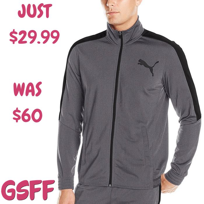 PUMA Men's Jacket Just $29.99! Down From $60! Shipped!
