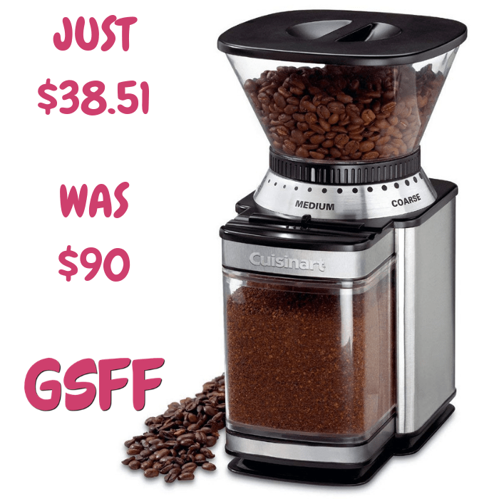 Cuisinart Grinder Mill Just $38.51! Down From $90! Shipped!