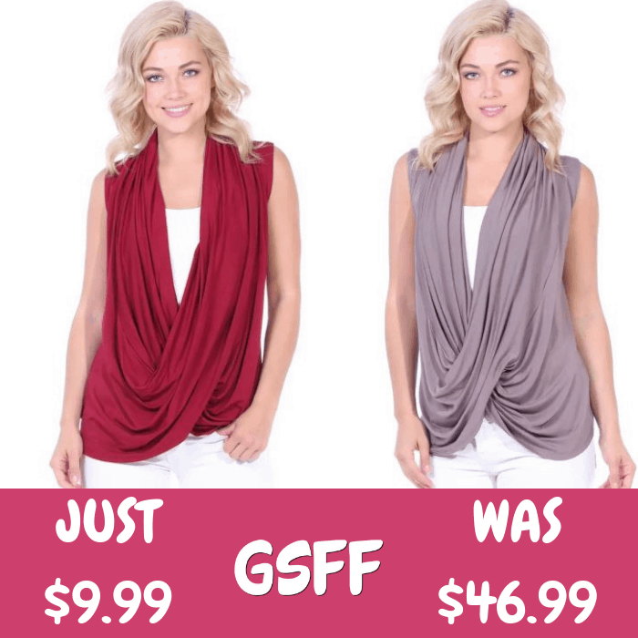 Criss Cross Top Just $9.99! Down From $47! Shipped!