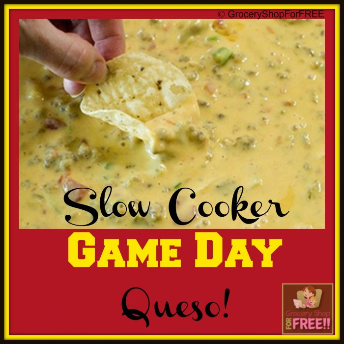 Slow Cooker Game Day Queso