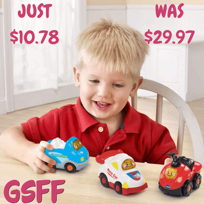 VTech Sports Cars 3-Pack