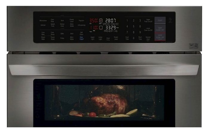 Get More Cooking Flexibility With The New LG Combination Double Wall Oven!