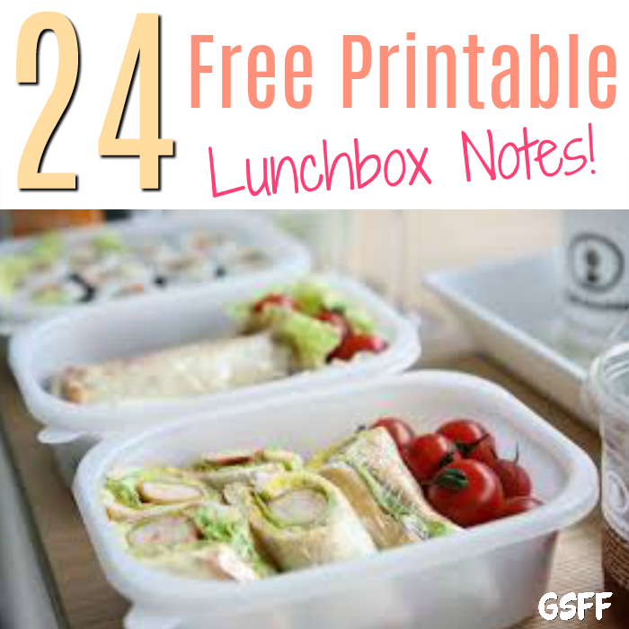 Lunch box notes for kids is a fun way to connect with them on what could be a challenging day! Here are 24 different free printable lunch box notes you can use!