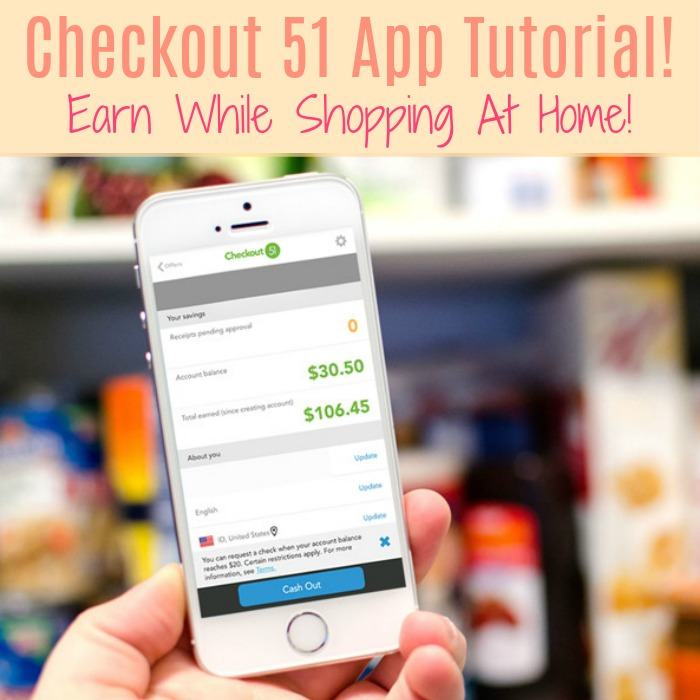 Checkout 51 App Tutorial! Earn Even While Shopping At Home!