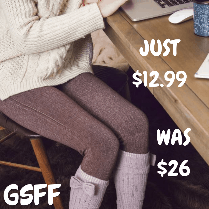 MUK LUKS Printed Leggings Just $12.99! Down From $26! Shipped!