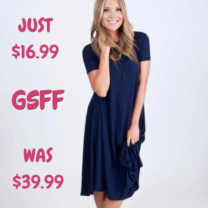 Spring Tee Dress Just $16.99! Down From $40! Shipped!