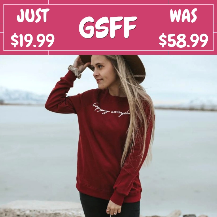 Happy Camper Sweater Just $19.99! Down From $59! Shipped!