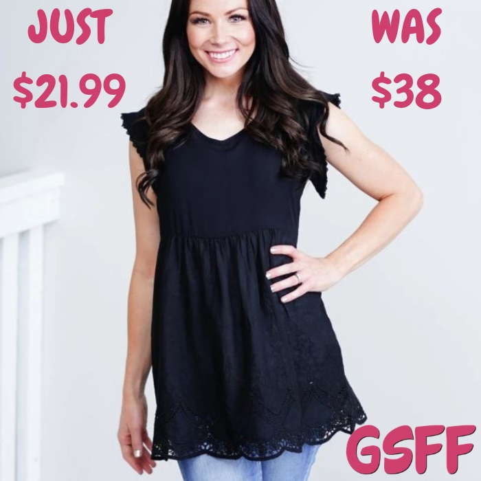 Isla Blouse Just $21.99! Down From $38! Shipped!