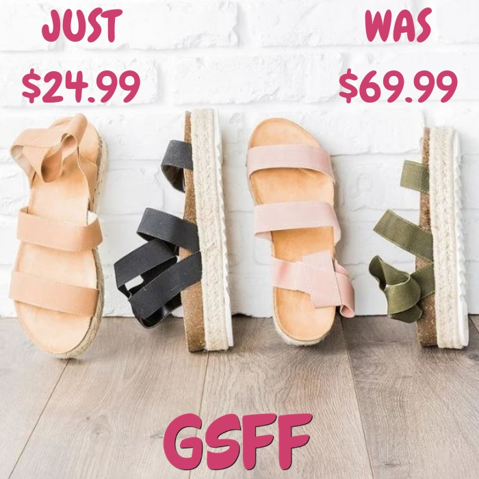Espadrille Sandals Just $24.99! Down From $70! Shipped!
