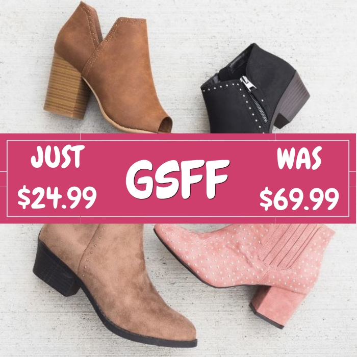 Studded Booties Just $24.99! Down From $70! Shipped!