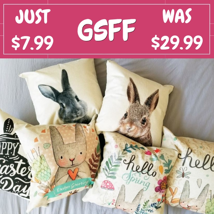 Vintage Pillow Covers Just $7.99! Down From $30! Shipped!