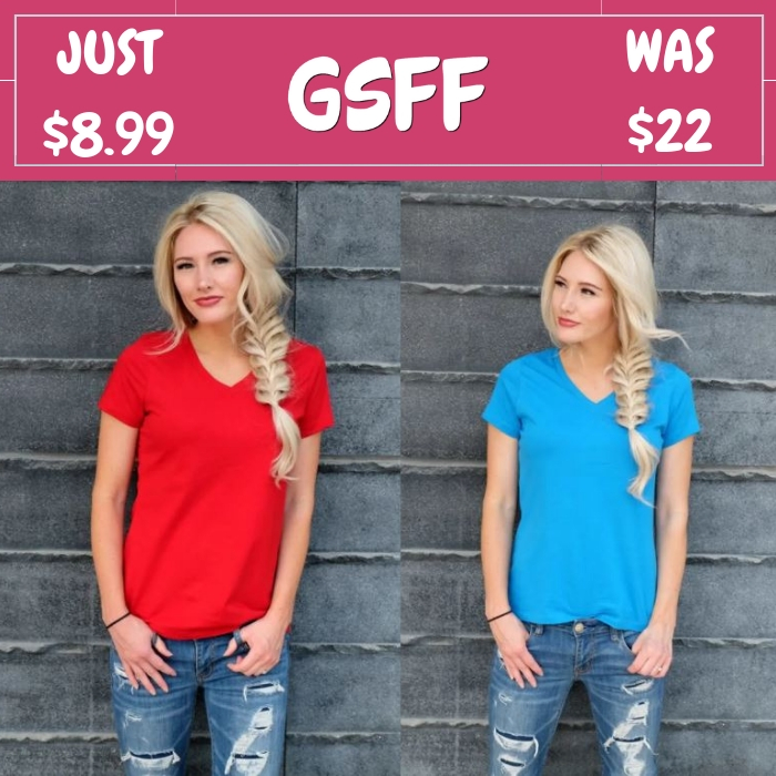 Every Day Tees Just $8.99! Down From $22!